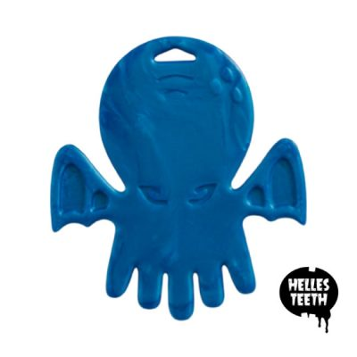 Cthulhu Chew blue - Helles Teeth Teething Toy - blauw