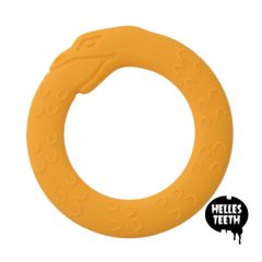 Jörmungandr/Midgard Serpent yellow - Helles Teething Toy - geel
