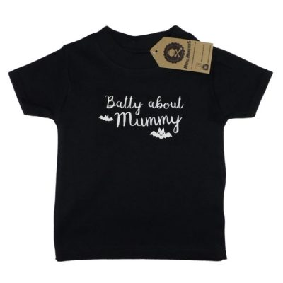 Metallimonsters - lief t-shirt Batty About Mummy - zwart met print