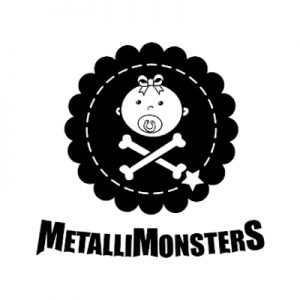 Rocking Babies - merklogo - Metallimonsters - www.rockingbabies.nl