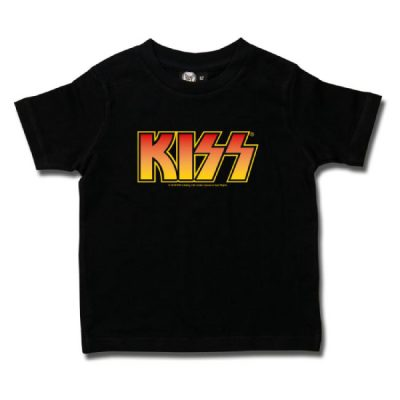 Metal-Kids - KISS t-shirt - zwart met print