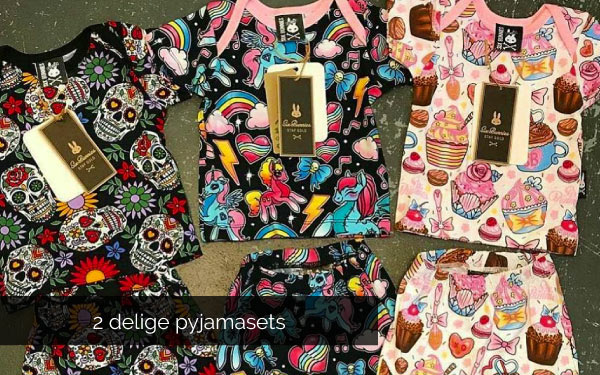 Rocking Babies - 2delige pyjamasets met lang of short broekje