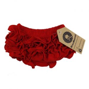 Metallimonsters - red bloomer Ruffle Bloomer - red