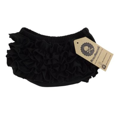 Metallimonsters - zwarte bloomer Ruffle Bloomer - zwart